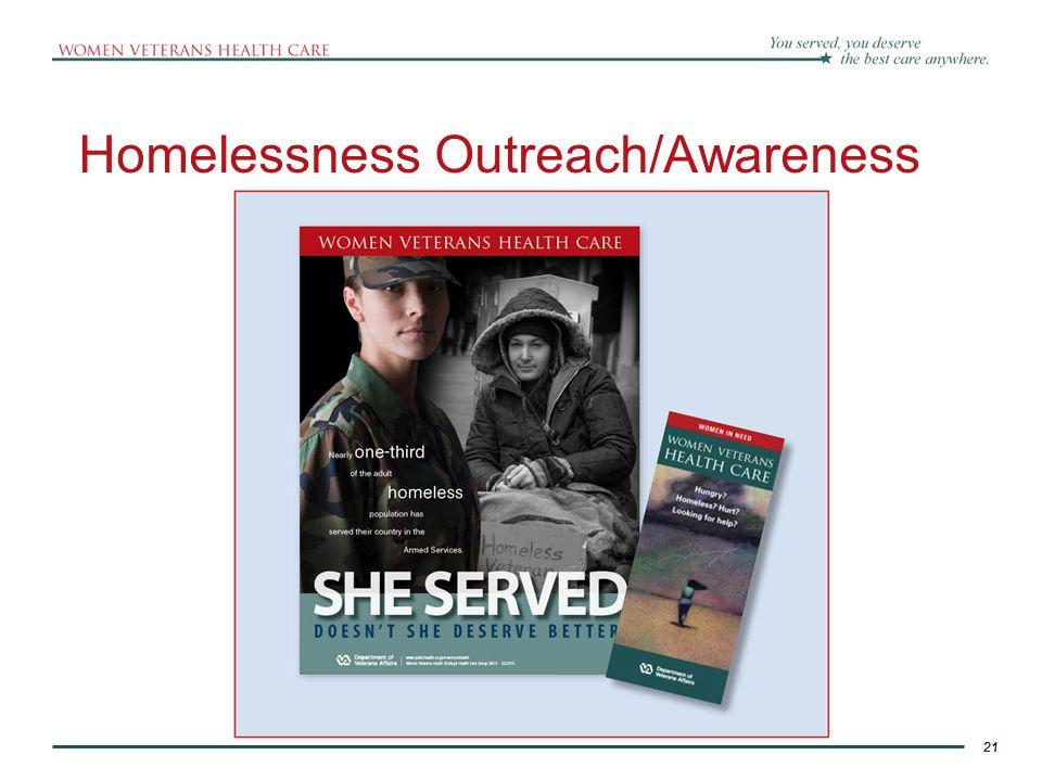 Homelessness Outreach/Awareness