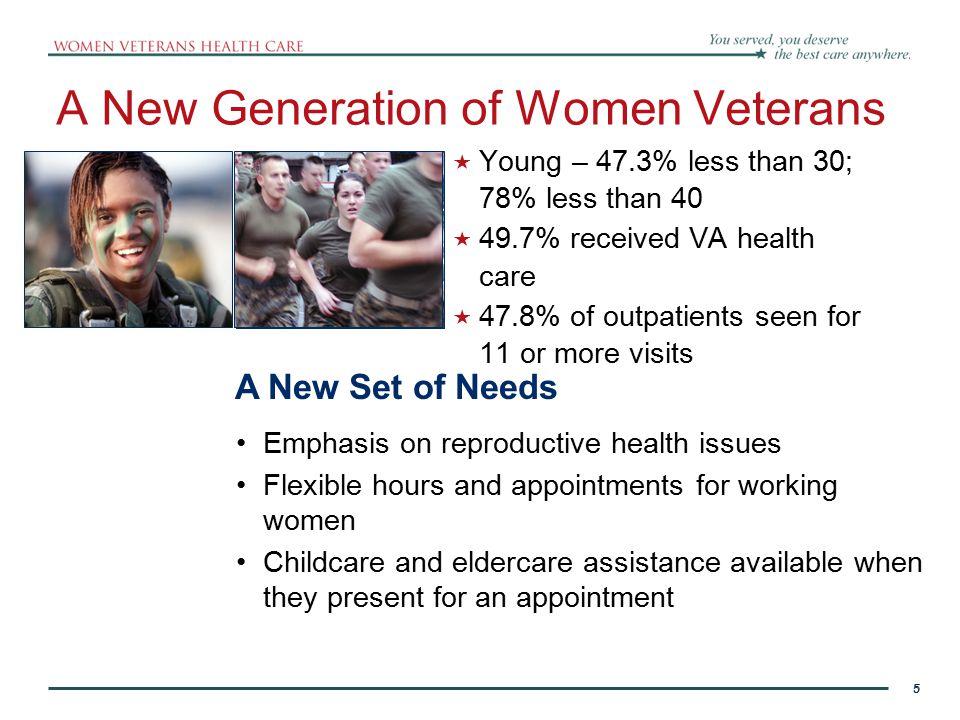 A New Generation of Women Veterans
