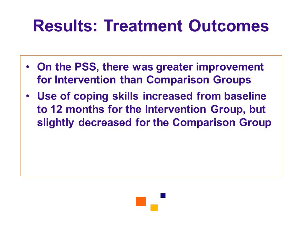 Results: Treatment Outcomes