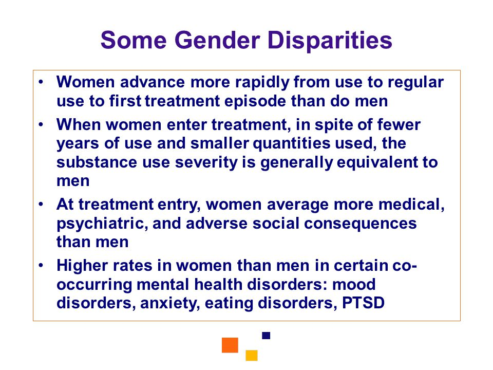 Some Gender Disparities
