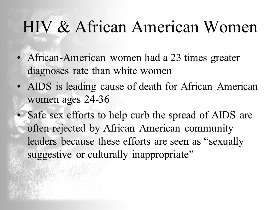 HIV & African American Women