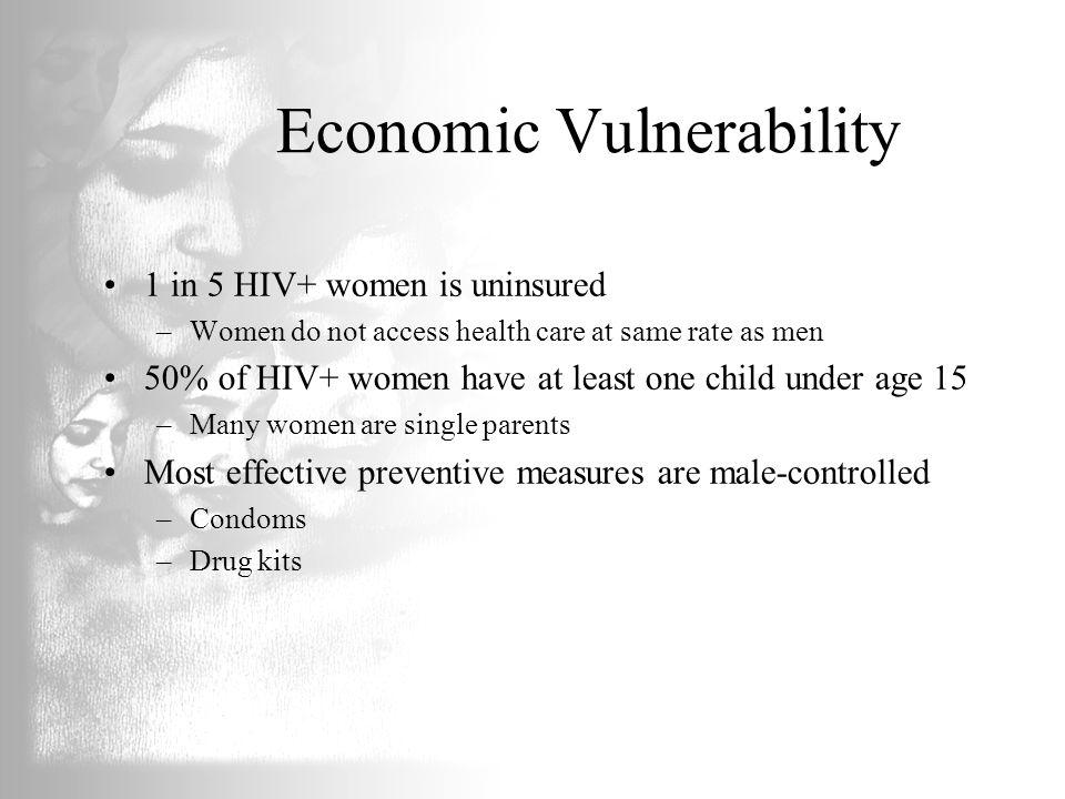 Economic Vulnerability