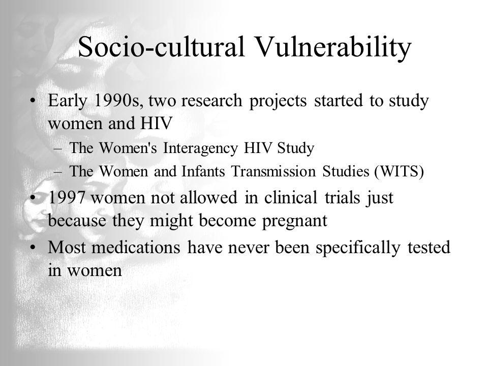 Socio-cultural Vulnerability