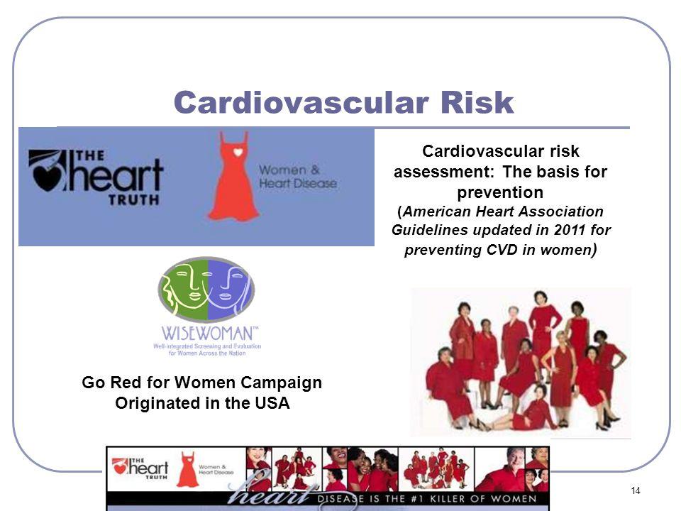 Cardiovascular Risk Cardiovascular risk assessment: The basis for prevention.