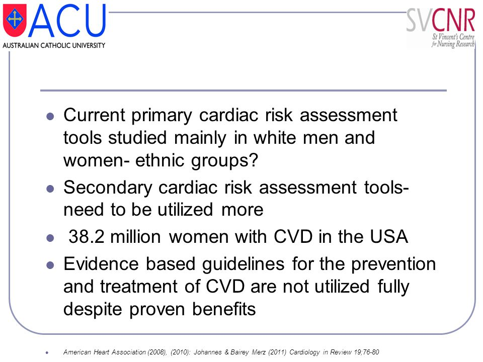 Secondary cardiac risk assessment tools- need to be utilized more