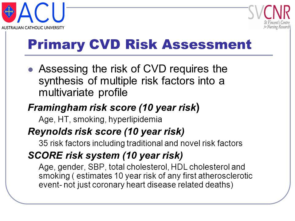 Primary CVD Risk Assessment