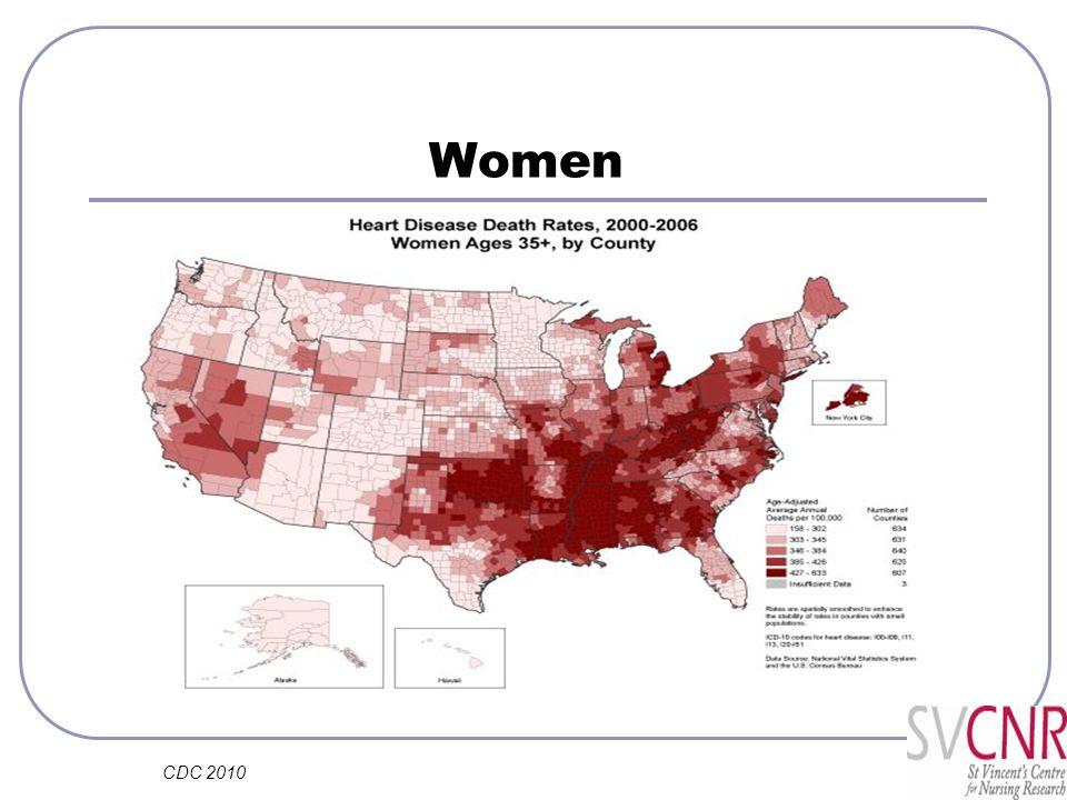 Women CDC 2010