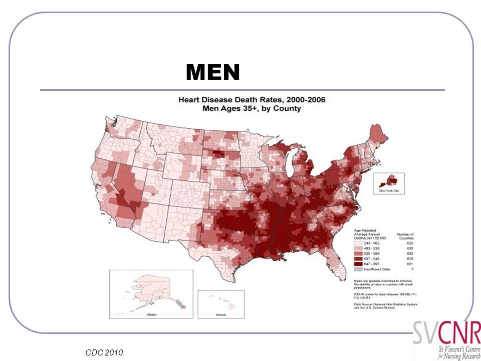 MEN CDC 2010