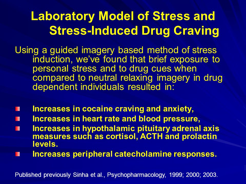 Laboratory Model of Stress and Stress-Induced Drug Craving