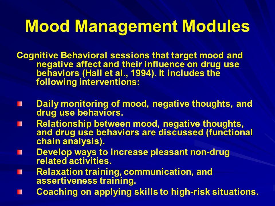 Mood Management Modules