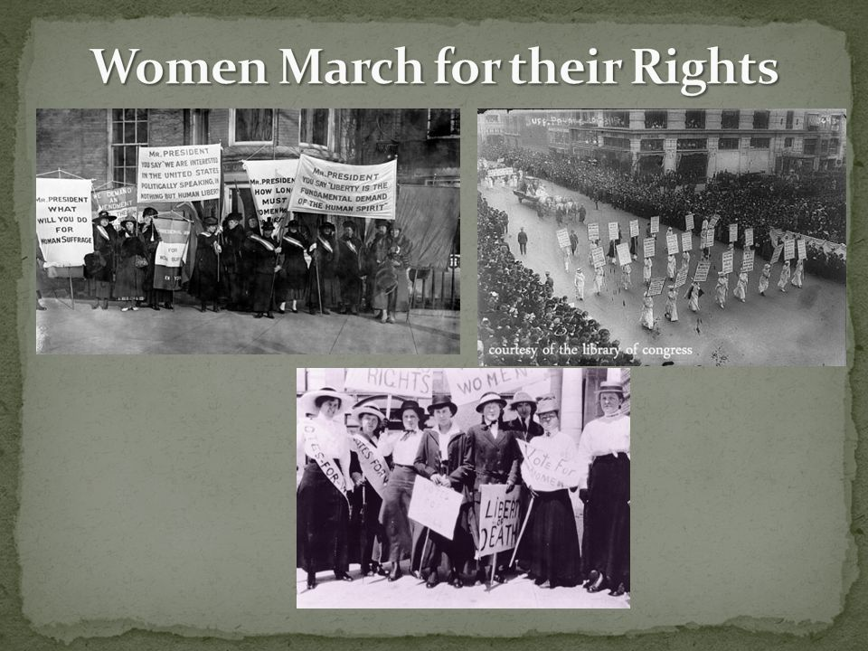 Women March for their Rights