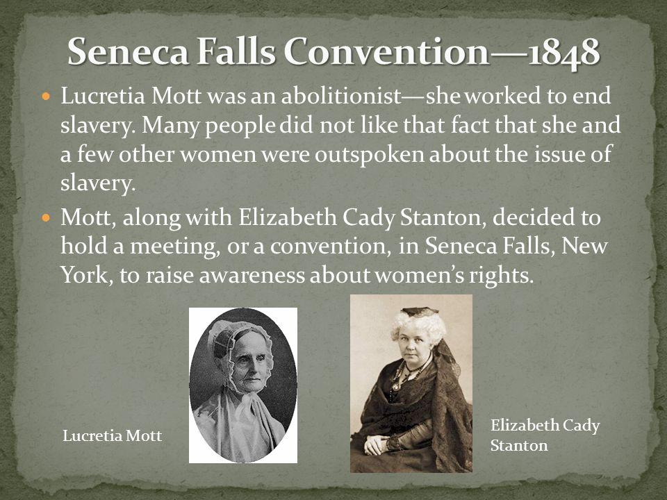 Seneca Falls Convention—1848