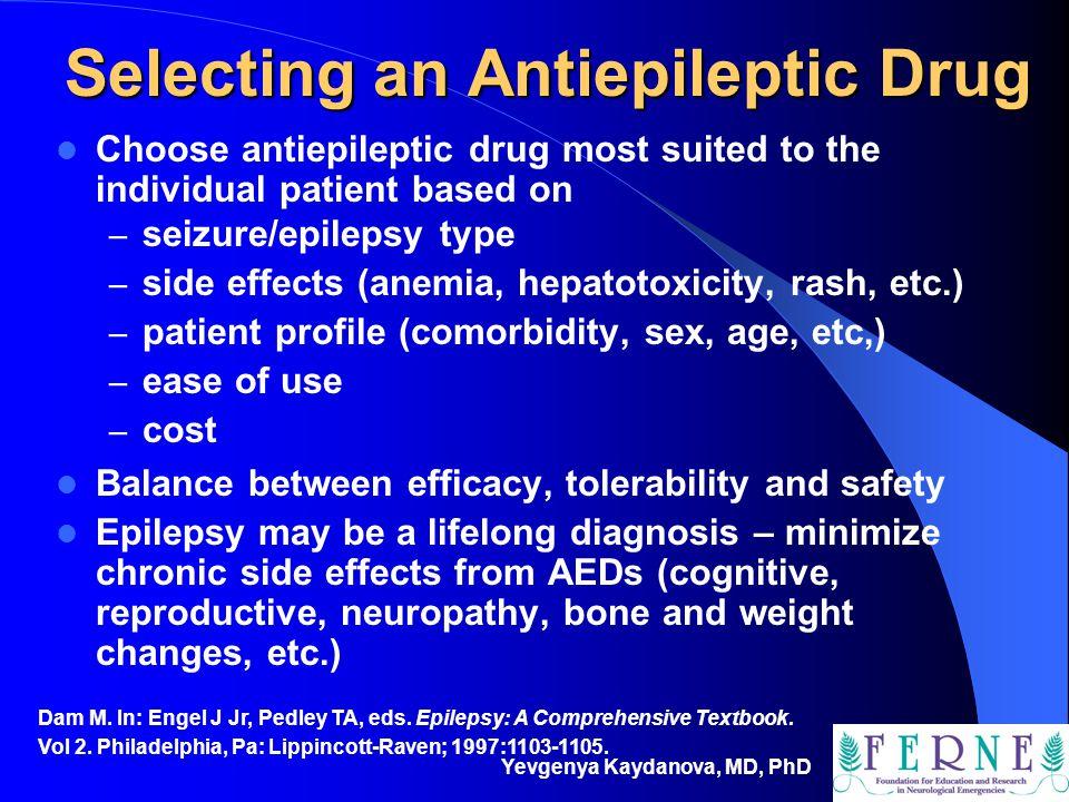 Selecting an Antiepileptic Drug