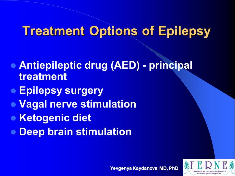 Treatment Options of Epilepsy