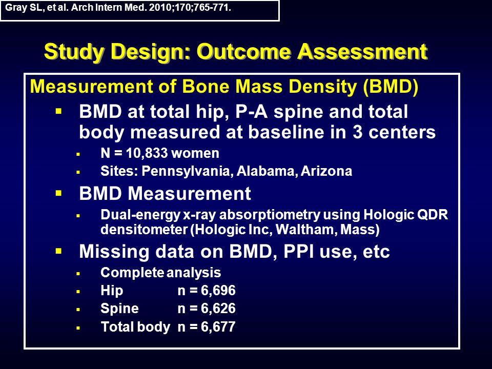 Study Design: Outcome Assessment