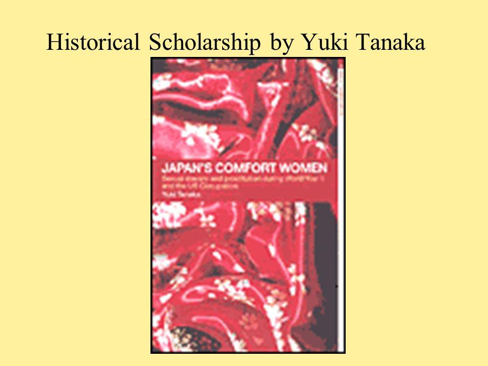 Historical Scholarship by Yuki Tanaka