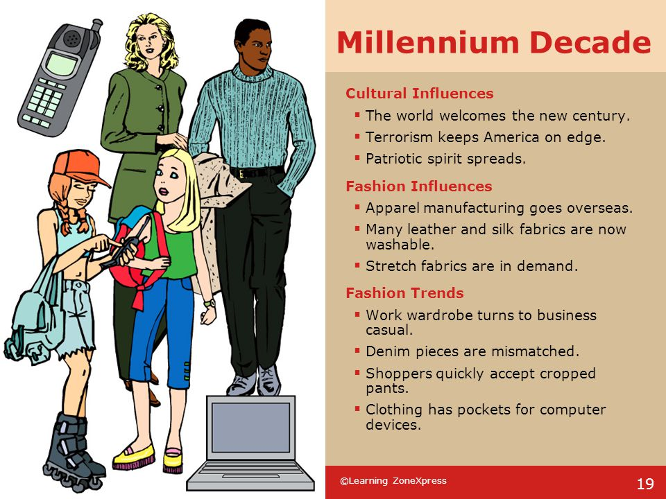 Millennium Decade Cultural Influences