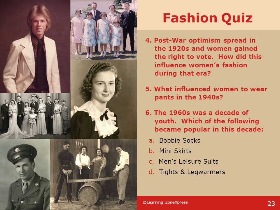 Fashion Quiz