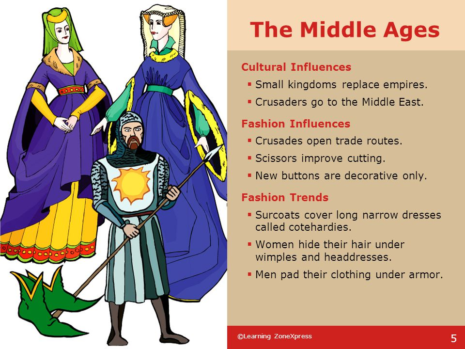 The Middle Ages Cultural Influences Small kingdoms replace empires.