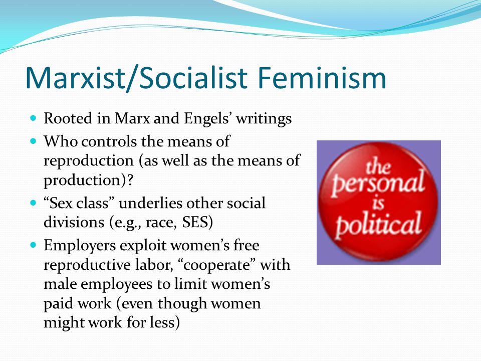 Marxist/Socialist Feminism
