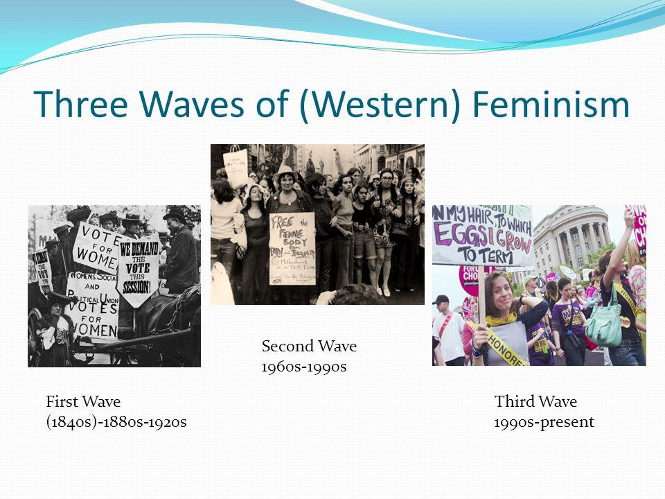 Three Waves of (Western) Feminism