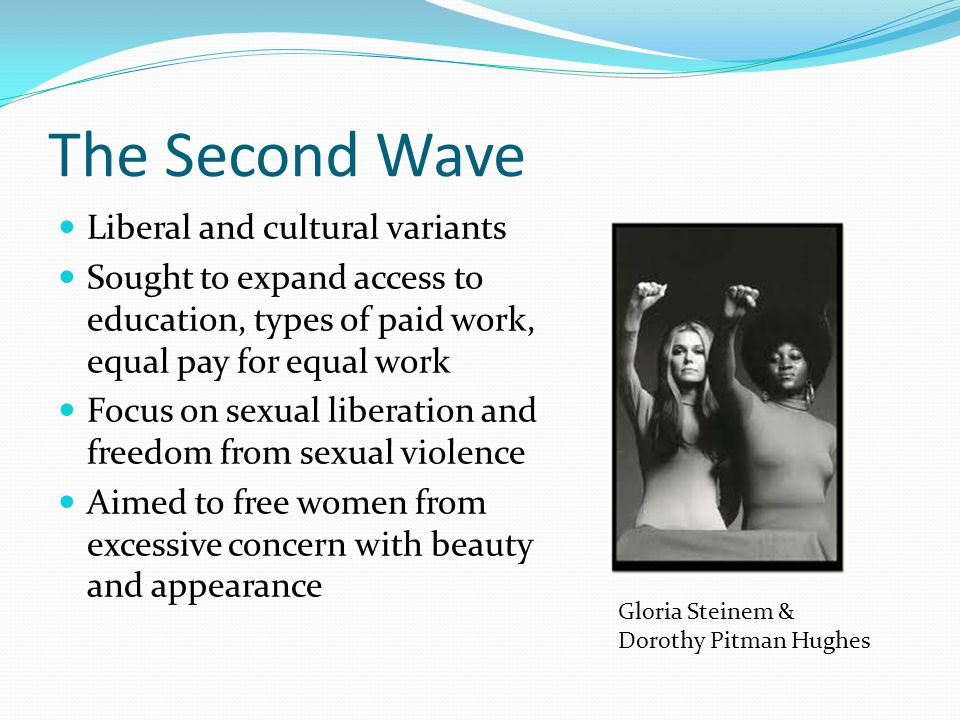 The Second Wave Liberal and cultural variants