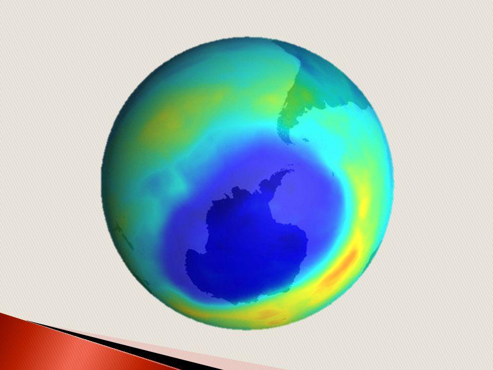 Depletion of ozone layer