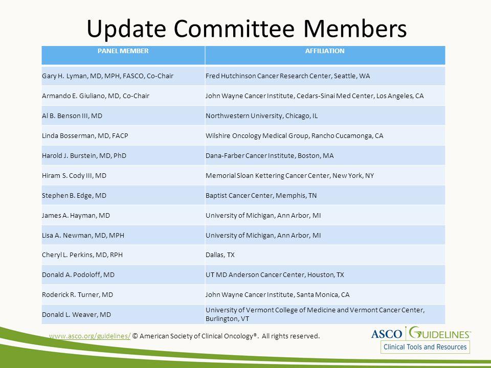 Update Committee Members