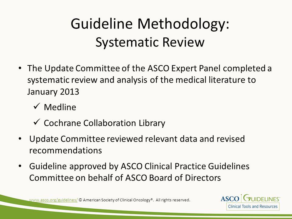 Guideline Methodology: