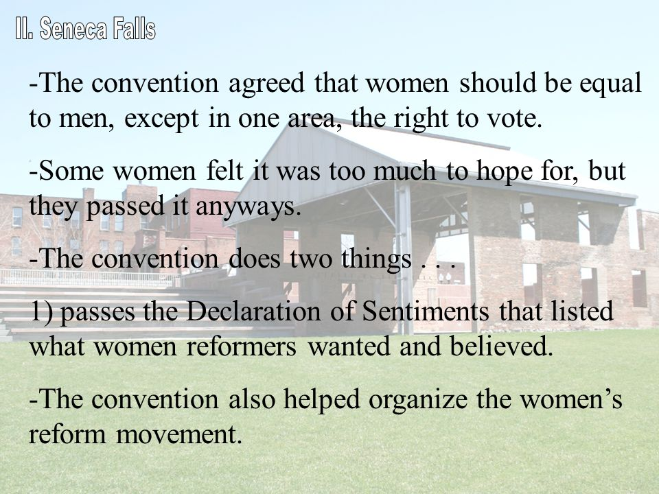 The convention does two things . . .