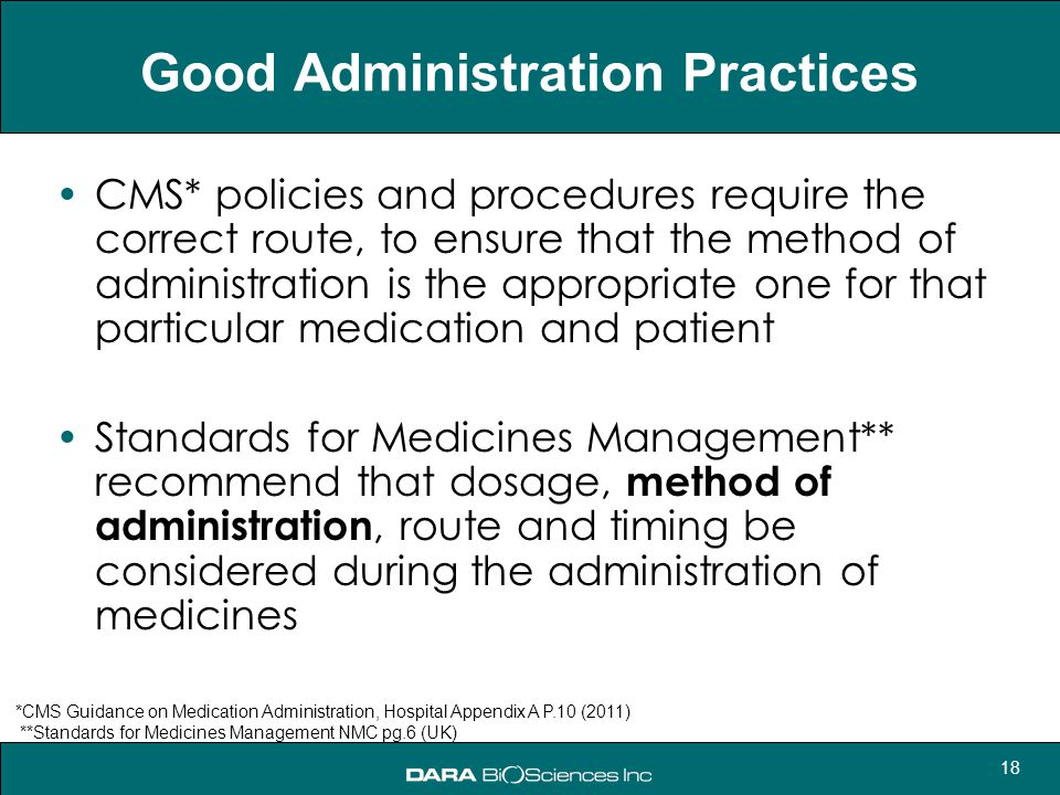 Good Administration Practices