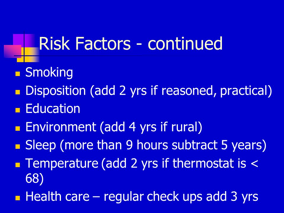 Risk Factors - continued