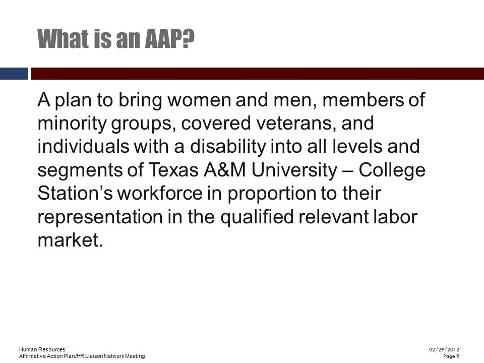 What is an AAP