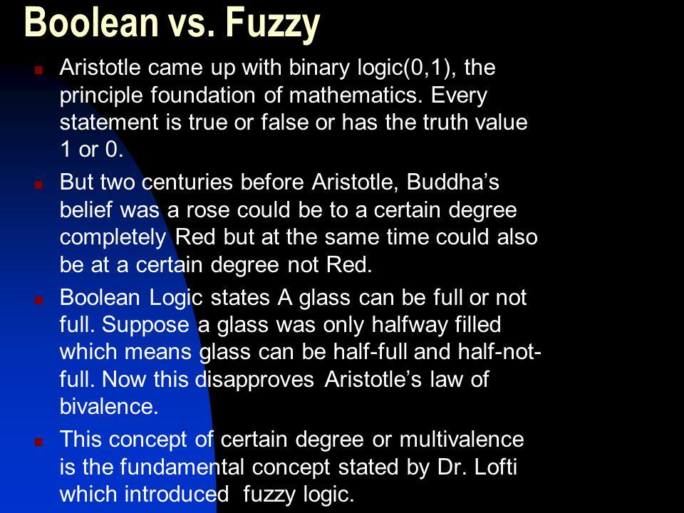 Boolean vs. Fuzzy