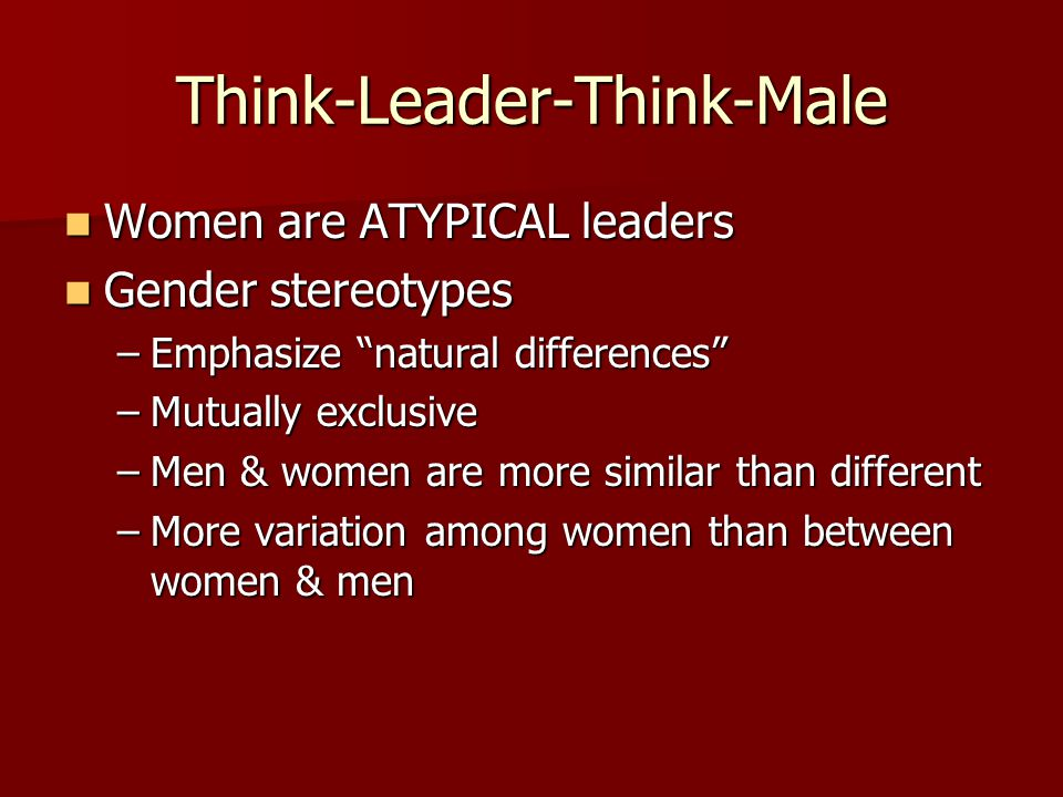 Think-Leader-Think-Male