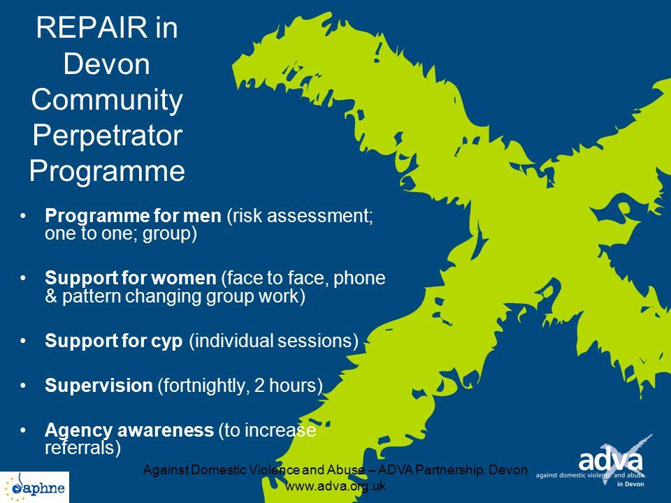 REPAIR in Devon Community Perpetrator Programme