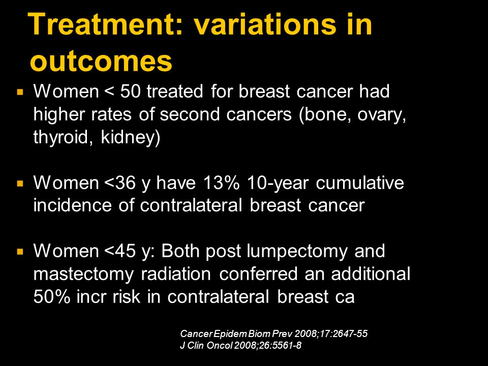 Treatment: variations in outcomes