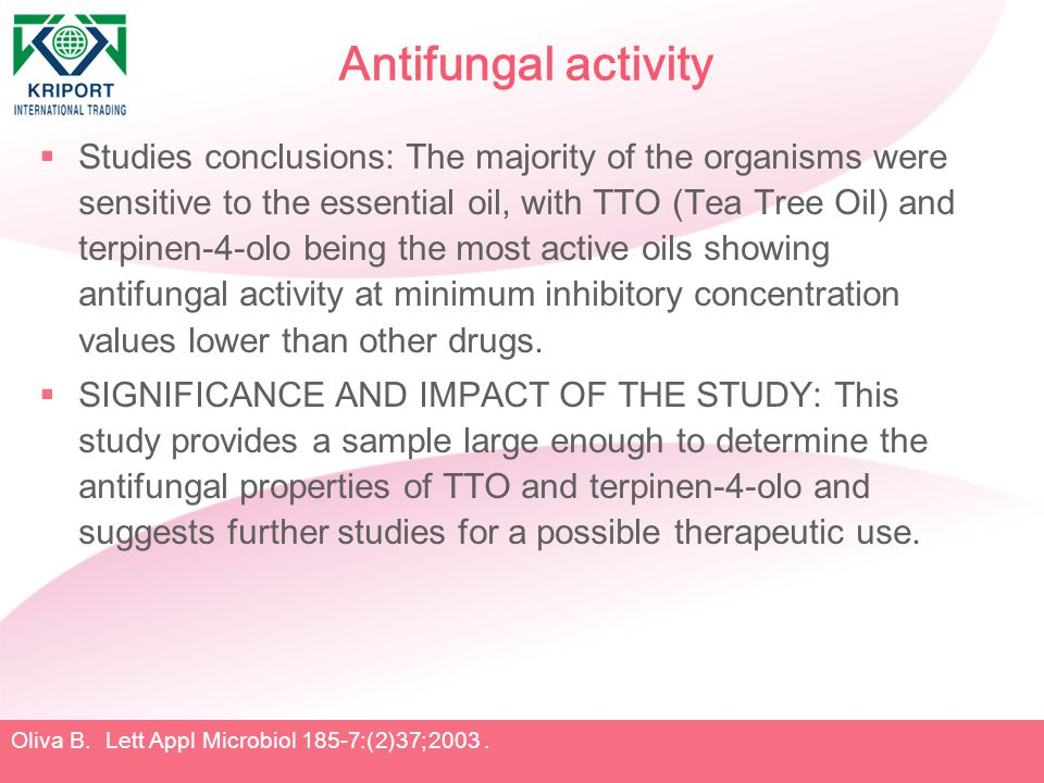 Antifungal activity