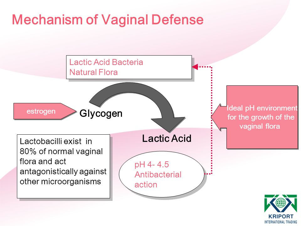 Mechanism of Vaginal Defense