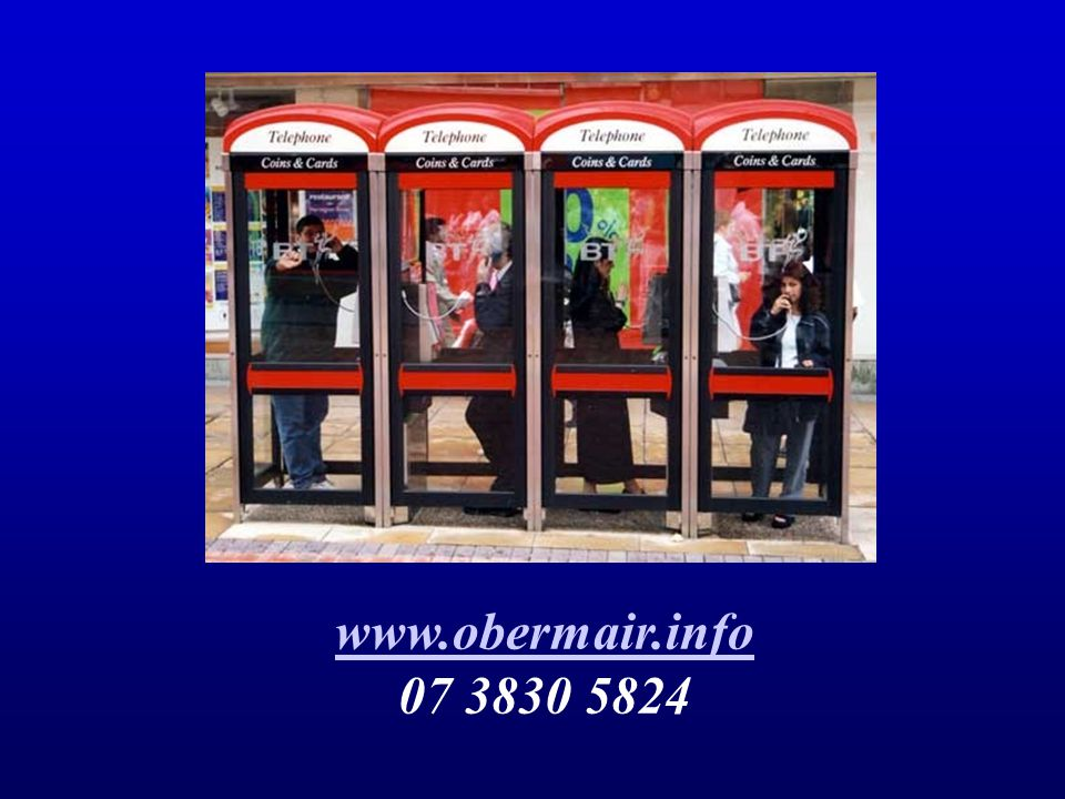 www.obermair.info 07 3830 5824