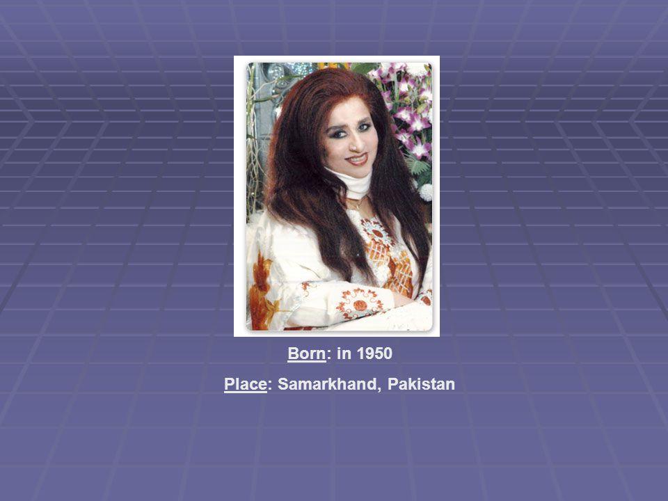 Place: Samarkhand, Pakistan