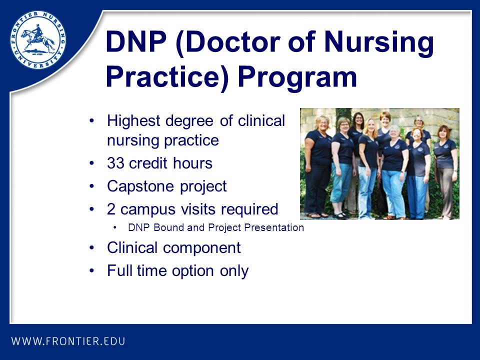 DNP (Doctor of Nursing Practice) Program
