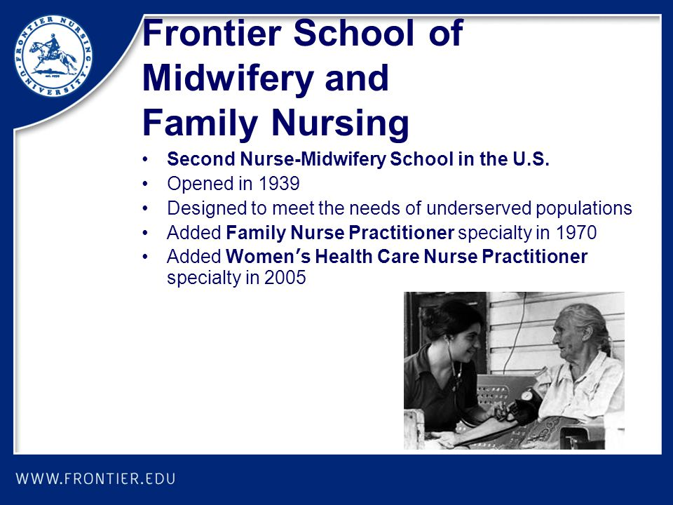 Frontier School of Midwifery and Family Nursing