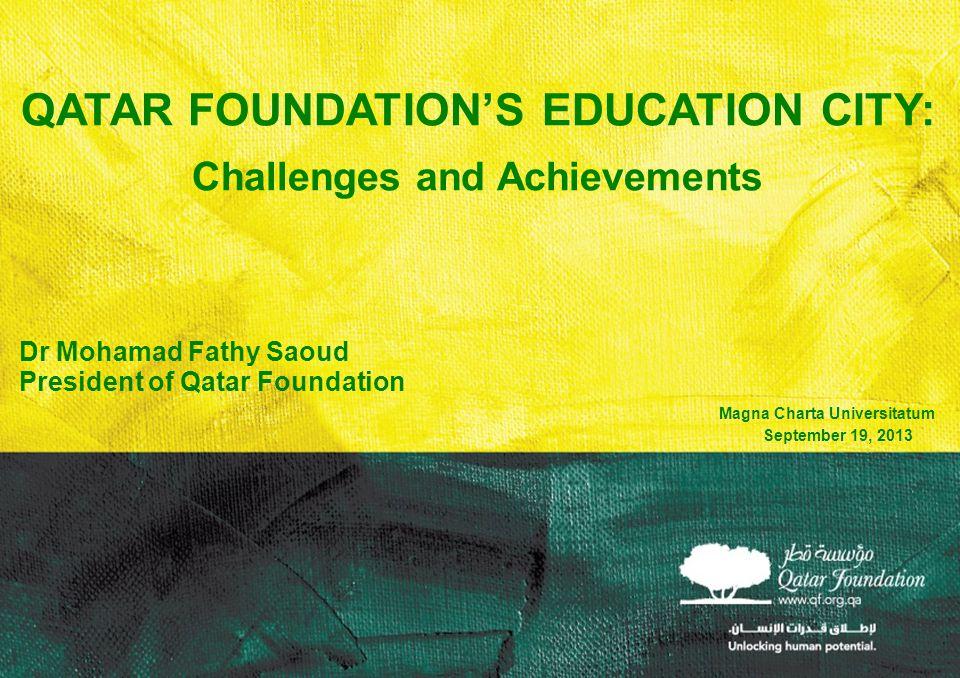 Qatar Foundation's Education CITY: