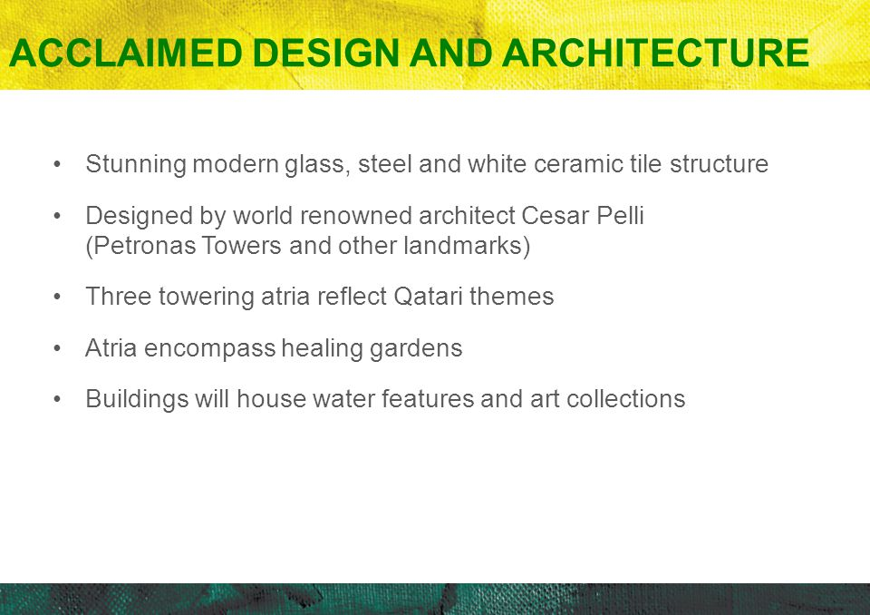 Acclaimed Design and Architecture