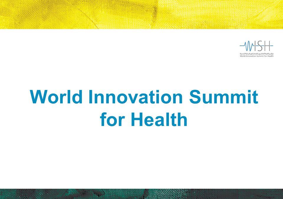 World Innovation Summit for Health
