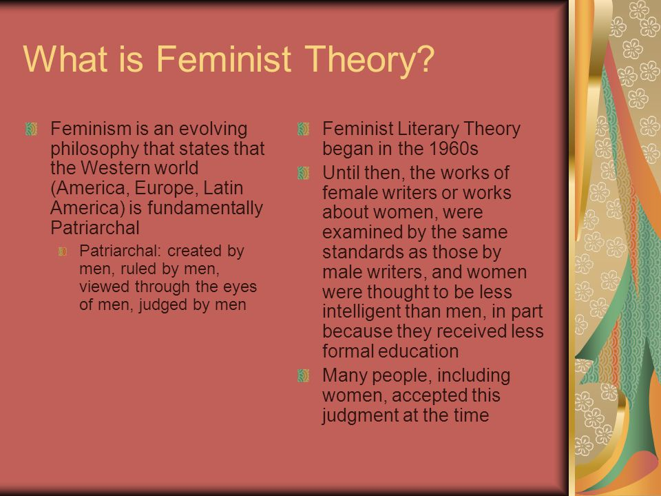 feminist conflict theory through the movie Much controversy surrounds the issue but looking at feminist theory,  revolutionary road was a profound movie  feminism is a conflict theory which views.