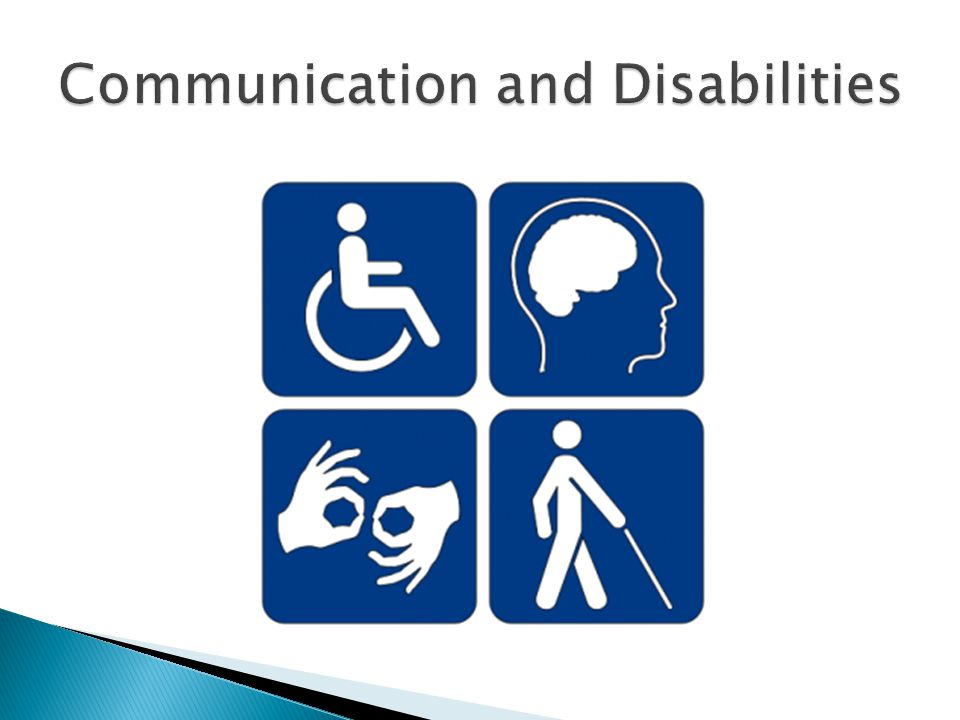 Communication and Disabilities