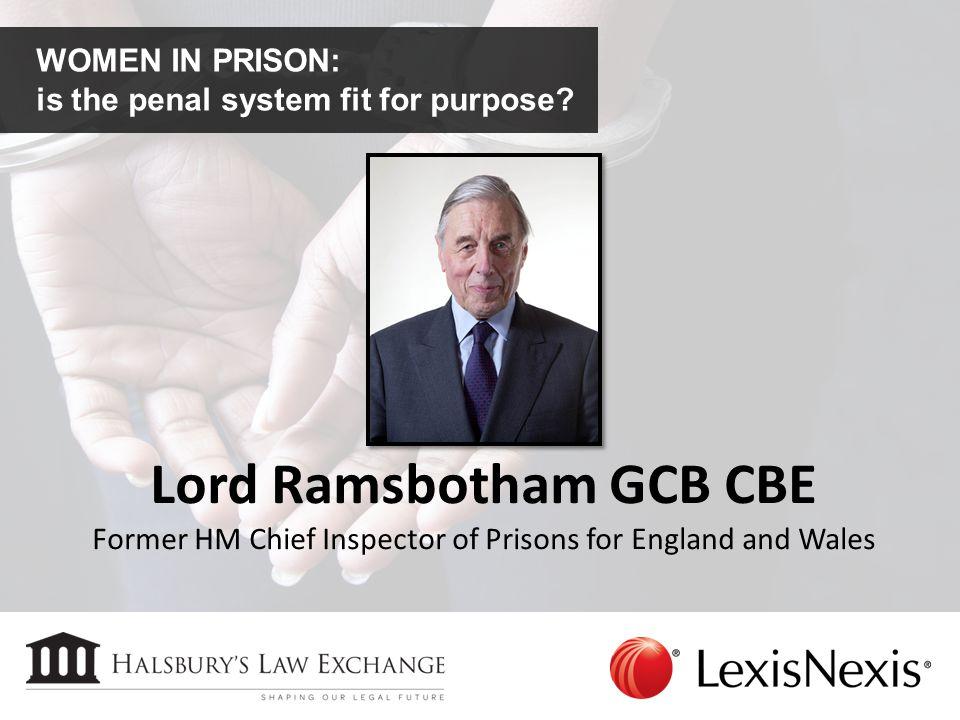 Lord Ramsbotham GCB CBE