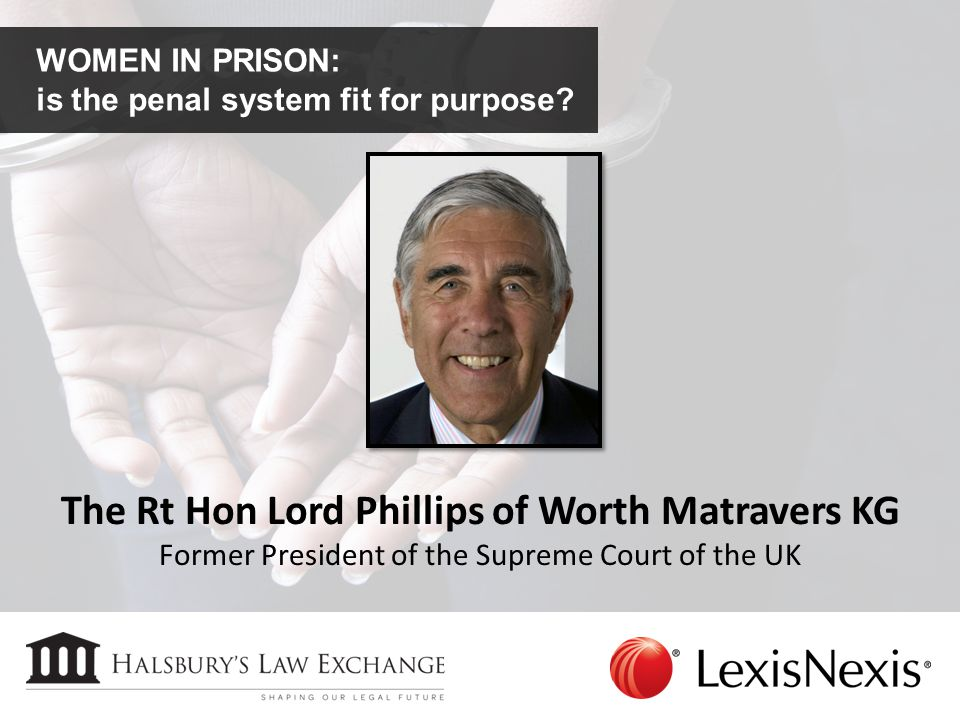 The Rt Hon Lord Phillips of Worth Matravers KG